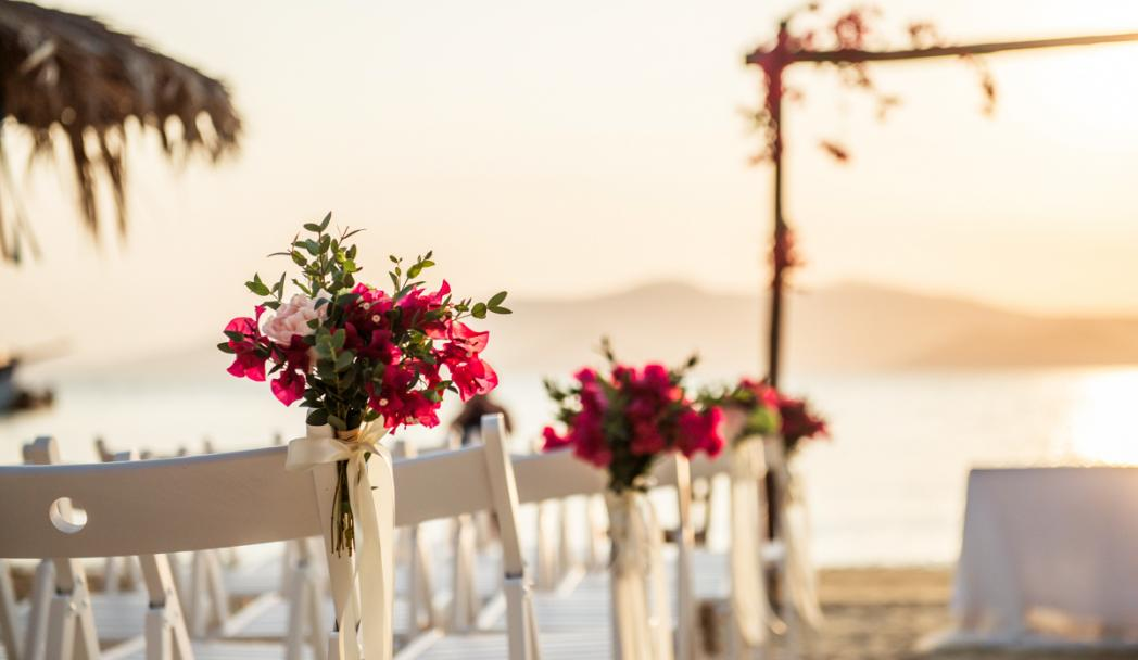 Bougainvillea themed wedding